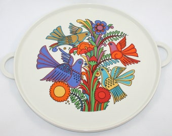 Villeroy & Boch Acapulco Chop Plate/Round Platter - 1970s
