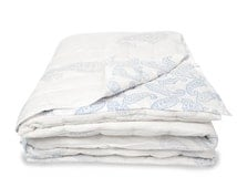 PAISLEY - Luxury REVERSIBLE QUILT Handcrafted Muslin Cotton Double Size