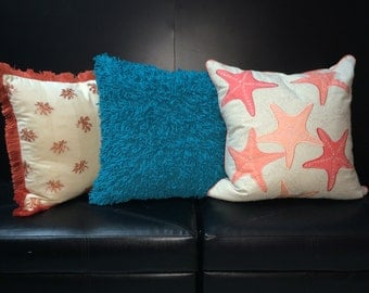 Beach Bungalow Collection Accent Pillows