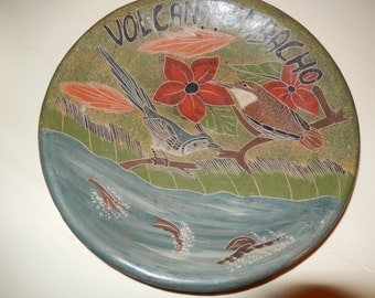 NICARAGUA VOLCAN MOMBACHO Bowl