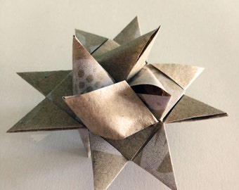 Christmas Origami Froebel Star Decorations / Ornaments - Perfect for Table and Christmas Decorations