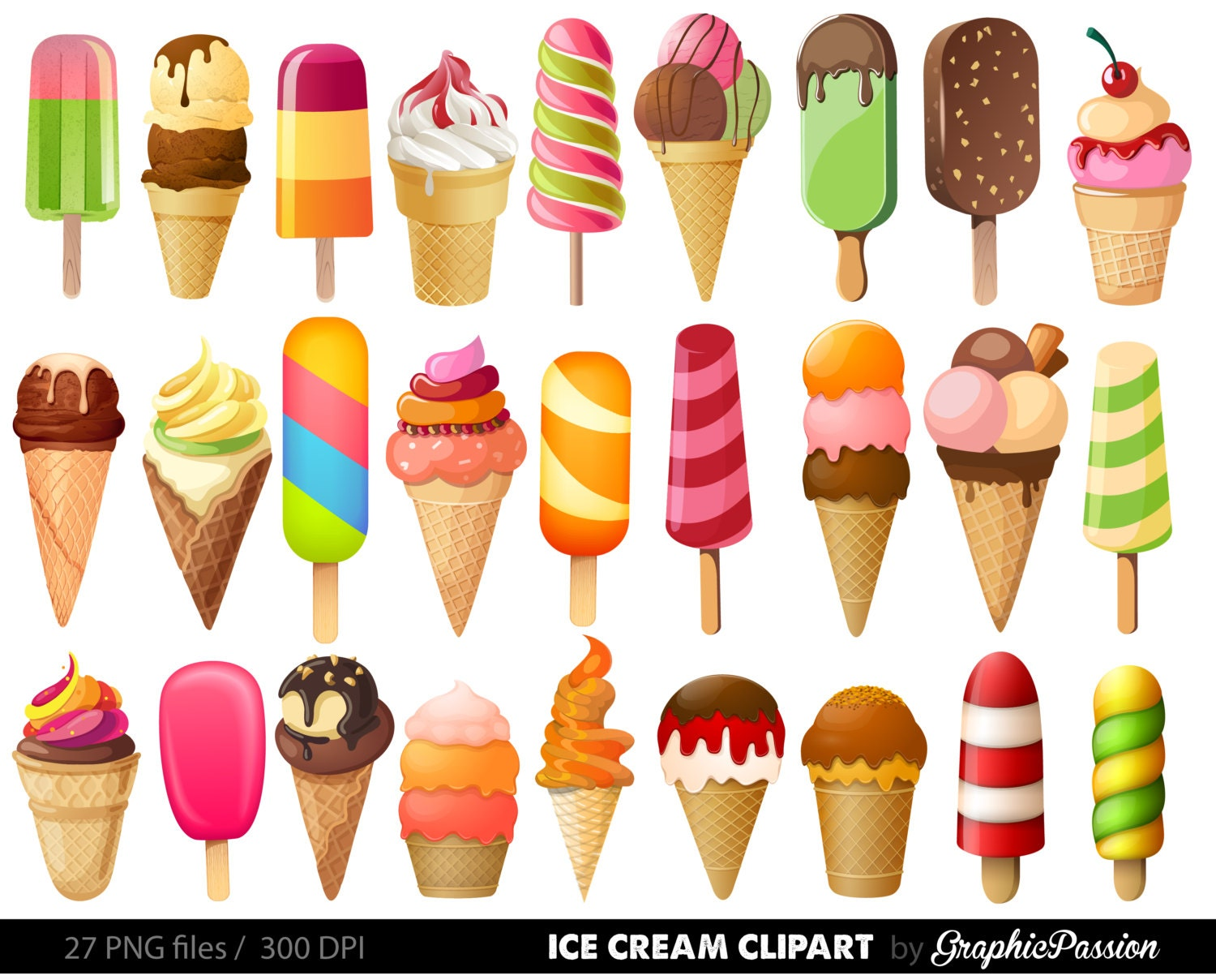 vintage ice cream clipart - photo #48