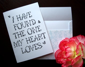 Romantic Love Card