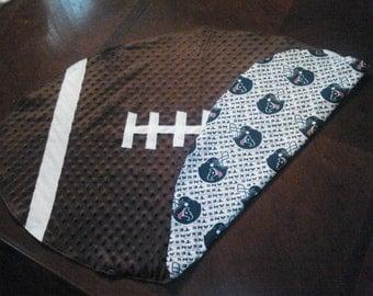 NFL/ NCAA Football Baby Blanket-The Houston Texans
