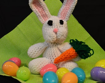 Crocheted Bunny - Easter Spring