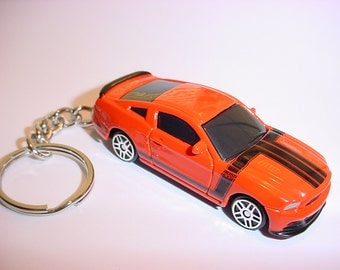 New 3D Ford Mustang Boss 302 Custom Keychain by Brian Thornton keyring key chain GT