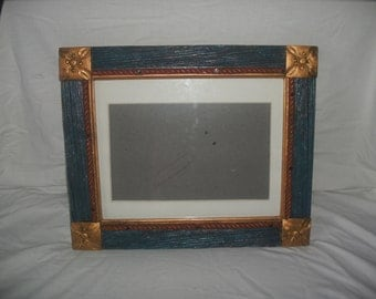 Handmade picture frame