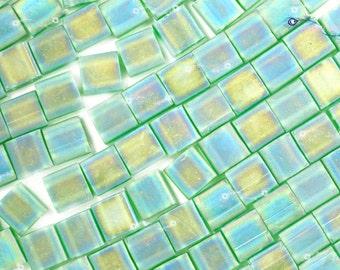 Miyuki Tila Beads - Matte Transparent Green AB [ TL-146FR]