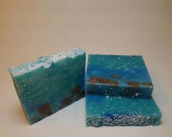 Sea Salt Soap, All Natural, Handmade, Vegan, Handcrafted, Lather Up Naturally