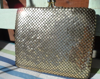choice of vintage gold mesh wallets
