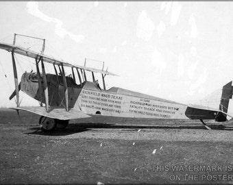 24x36 Poster; Curtiss Jn-4 Jenny 1918 P1