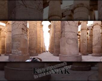 24x36 Poster; Karnak Temple P1