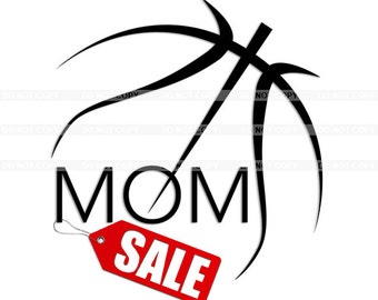 Premium Basketball Mom clipart, vector graphics, digital clip art, digital images