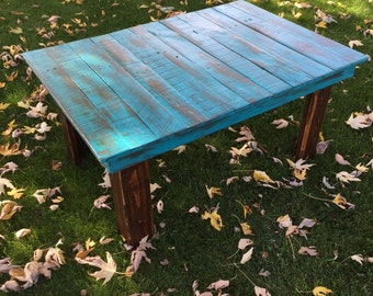 Rustic Distressed Coffee Table
