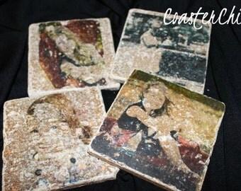 Custom Photo Tile Coasters (Set of 16) by CoasterChick