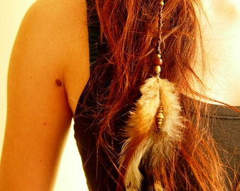 Accessory hair, feather
