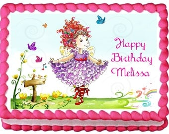 FANCY NANCY Birthday Edible image Cake topper designs