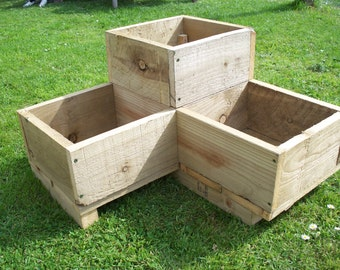 Items similar to Landscape Timber Turtle Planter Plan ETY