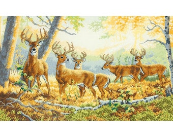 Dimensions Gold Counted Cross Stitch Kit - Summer's End