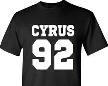 Miley Cyrus DOB T-Shirt   Date of Birth