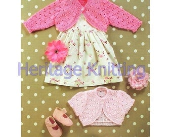 Baby /girls crop tops dk knitting pattern 99p
