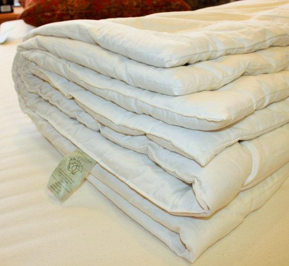 Organic Cotton Sateen Duvet Filler