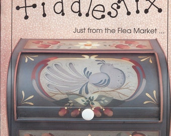 Decorative Tole Painting Patterns - Decorative Painting Patterns - Fiddlestix Just From The Flea Market Decorative Wood & Tin Painting Book