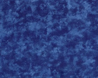 "MODA - Marble Quilt Backing 108"" Wide - Blue - 11002 15 - Windsor - Wide Width - 108"" Wide - Quilt Backing"