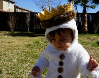 Max where the wild things are costume Size 6, 9, 12, 24, 36 months and up!