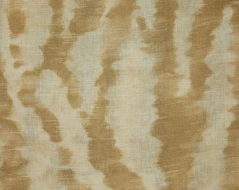 CLARENCE HOUSE EXCLUSIVE Le Marche Linen Fabric 10 Yards Beige