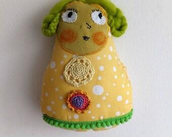 Little princess - original and unique rag doll - OOAK