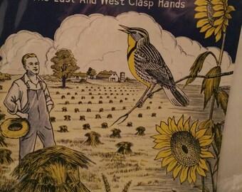 Vintage Sheet music Kansas