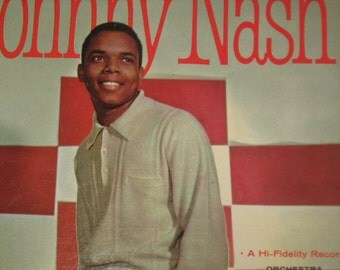 Johnny Nash 1960's Rock And Roll Star ABC-Paramount Vinyl Record 244
