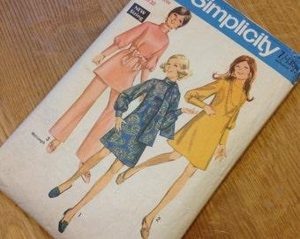 1970s Simplicity Vintage Dress Pattern