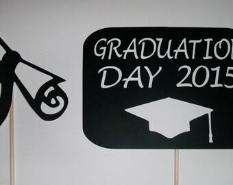 Graduation Photo Booth Props 2015 Diploma (2070D)