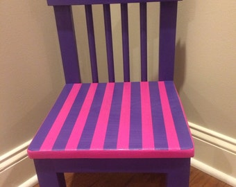 Kids timer out chair with timer