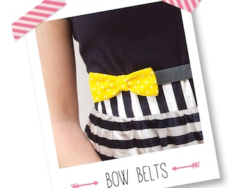 Make a Bow Belt Kit (with 3 interchangeable bows)