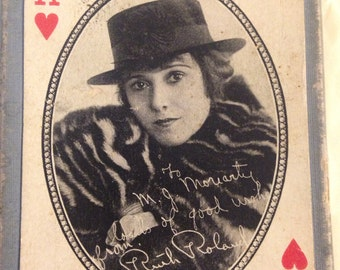 1914 Silent Movie Playing Cards