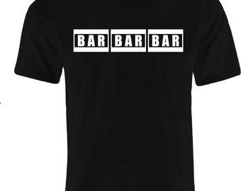 BAR Fruit Machine - Men's T-Shirt - Classic Tee - Gaming, Bar, and Casino Lovers