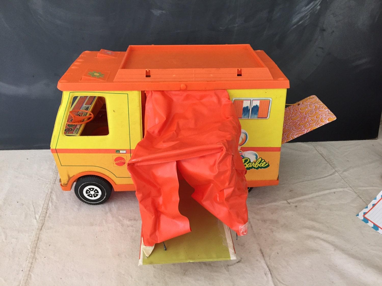 Camping-car de Barbie Country de Mattel vintage par RockYourBottles