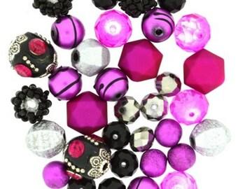 Design Elements by Jesse James Beads - Black Beauty - Glass Beads - Acrylic Beads
