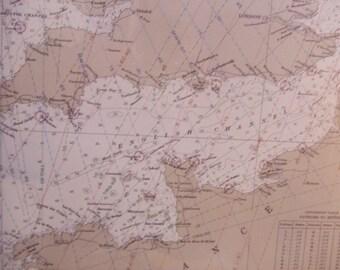 British Isles Oceanographic Nautical Chart