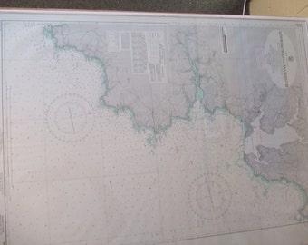 England - South Coast, Approaches to Falmouth Nautical Chart