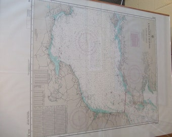 English Channel - Eastern Sheet - England and France including Dover Strait - Nautical Chart, 4524