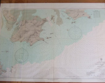 San-Tsao Tao and Adjacent Islands ~ Approaches to Hsi Chiang (West River) - South Coast of China - Asia - Nautical Chart #6432