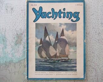 Yachting Magazine ~ July, 1946