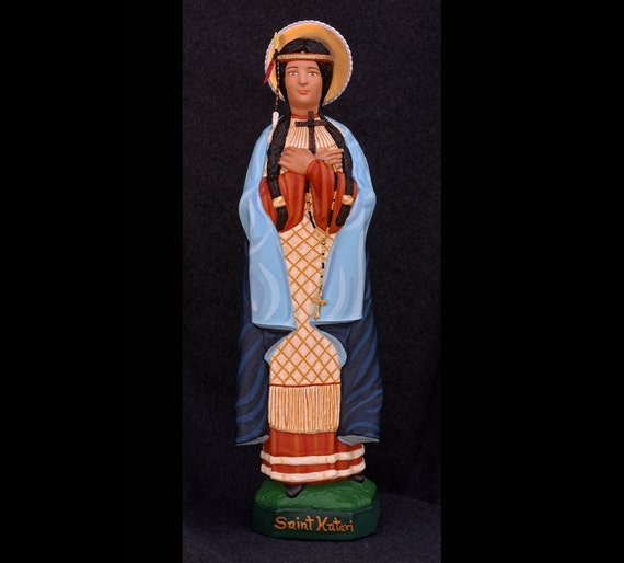 "St. Kateri Tekakwitha 18"" Catholic Christain Statue"