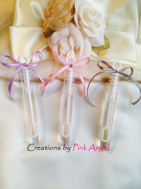 Bubbles Wedding Bubbles Wedding Favors By CreationsByPinkAngel