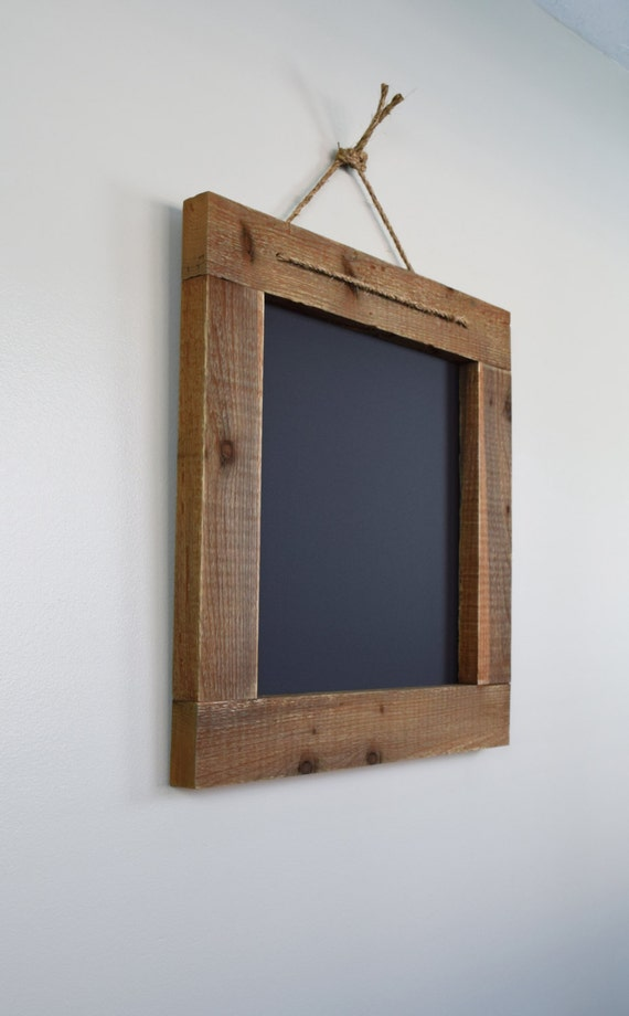 Rustic Farmhouse Chalkboard 25x25 Square Blackboard