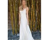 silk slip bias dress